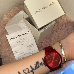 Michael Kors Watch (RED)